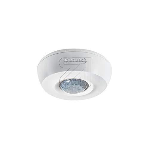 ESYLUX Decken-Präsenzmelder ws PD 360/8 Basic AP,360 Grad,RW ca.8m Basic Bewegungsmelder komplett 4015120430411