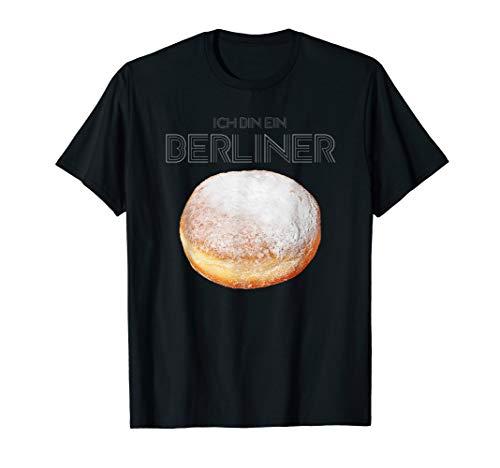 Karneval Verkleidung Kostüm Krapfen Berliner Herren Damen T-Shirt