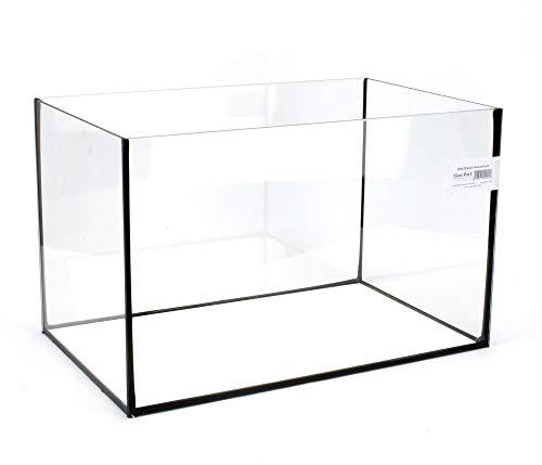 Aquarium Becken rechteckig standard Größen Glasbecken Glas Aquarienbecken (40x25x25)