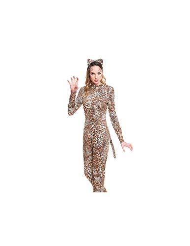 DISBACANAL Disfraz Leopardo para Mujer - -, S