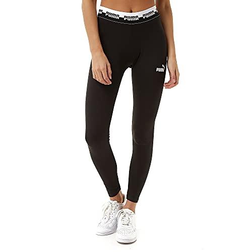 PUMA Womens 585917-01_L Leggings, Black, L