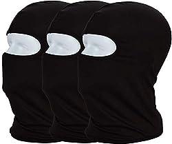 MAYOUTH balaclava ski mask ski hood motorcycle hood 3 pieces breathable for men and women