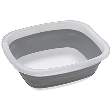 Prepworks by Progressive Collapsible Dish Tub, Large 10 Quart Capacity, Pop Up Portable Dish Tub, Washing Basin