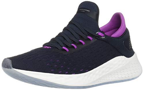 New Balance Women's Fresh Foam Lazr V2 HypoKnit Sneaker, Eclipse/Voltage Violet, 11 M US