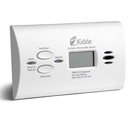 Kidde Carbon Monoxide Detector with Digital Display & LED Lights, CO Alarm