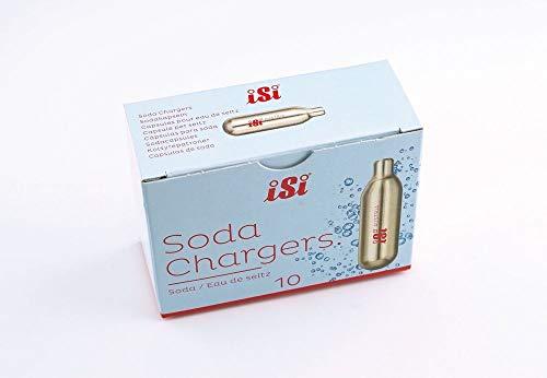 ISI Recharges Soda, Convient À Tous Soda Attrazure - Sodamaker Classique, Soda Siphon et Twist'N -...