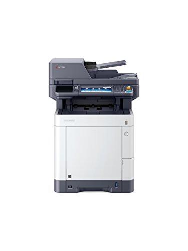 Kyocera Klimaschutz-System Ecosys M6630cidn 4-in-1 Farblaser Multifunktionssystem. Drucker, Kopierer, Scanner, Faxgerät mit Touchpanel. Mobile Print-Unterstützung für Smartphone und Tablet