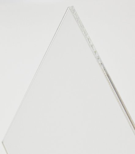 Acryl-Zuschnitt/Plexiglas-Platte transparent, 3mm XT, 30 x 20 cm