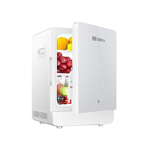 MQJ Refrigerador de Automóviles 22L Mini Frigorífico Portátil Ultra Silencioso Ruido Eléctrico de Bajo Ruido Y Calentador Sistema Único para Refrigeración Y Calefacción, Dc12V