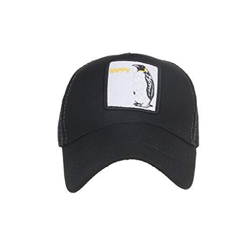 LOPILY Sombrero de Mujer y Hombre Moda Animales Bordado Gorras de béisbol Hip Hop Sombrero Verano Sombreros de Sol Sombrero de ala Ancha Casquillo al Aire Libre La Moda Sombreros Cowboy(M)