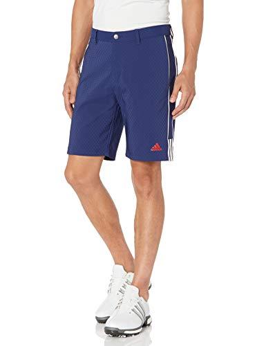 adidas Pantalones Cortos de Golf para Hombre, Hombre, Pantalones Cortos, TM6333S20USA, Azul Oscuro, 34