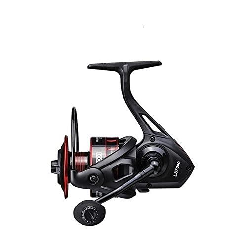 LQJin LS Carrete de Pesca 1000-7000 de Giro del Carrete 10 kg MAX Arrastre 5,0: 1 Profundo Spool Carp Fishing Pesca Carrete de Pesca (Spool Capacity : 1000 Series)