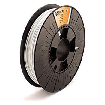 BASICFIL PLA 1.75mm 500 g, SIGNAL WEIß (white), 3D Drucker Filament