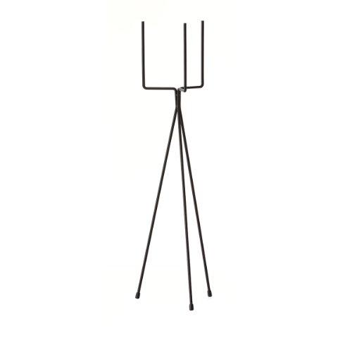 Ferm Living Pflanzenständer, Metall, Black, 65x15x15