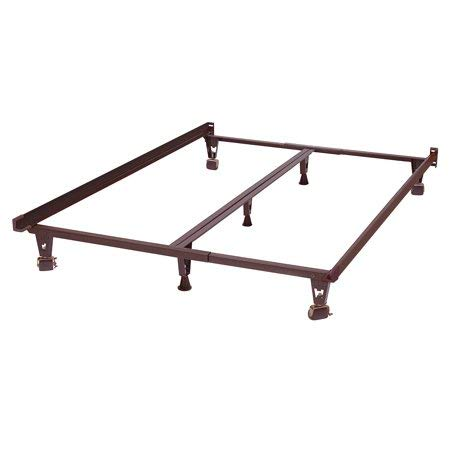 Metal Bed Frame - Monster - Heavy Duty - Adjustable Frame - for Twin,Full,Queen,King,California King
