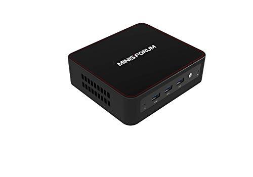 Mini PC U500, Procesador Intel Core i3-5005U, 8GB RAM/128GB SSD, HD Graphics 5500,HDR10, con Sistema de refrigeración y Windows 10 / Ubuntu 18.10, 5 x USB, BT 4.2 4K Salida HDMI Dual