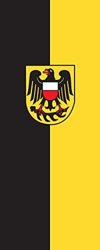 magFlags Drapeau Rottweil (Kreis) | Portrait Flag | 3.5m² | 300x120cm