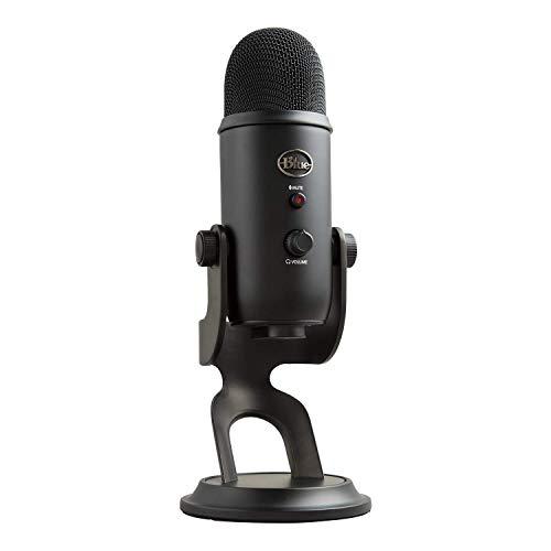Blue Microphones Yeti Microphone USB, Blackout