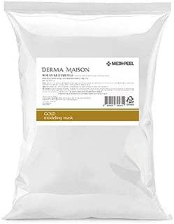 [Medi-Peel] Derma Maison Gold Modelling Mask, 1kg | Professional Quality Modeling Pack for Home Skin Care