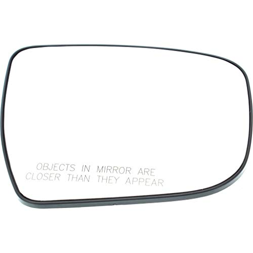 For Nissan Murano Mirror Glass 2015 16 17 2018 Passenger Side | Non-Heated | w/Backing Plate | S/SV | Convex Glass Type | 963654BA0A