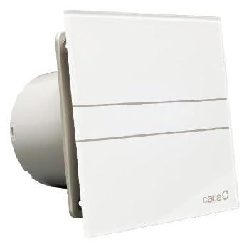 Cata | Extractor baño | Modelo e- 150 GT | Estractor de baño Serie e Glass | Bajo Consumo | Ventilador Extractores de aire alta Eficiencia Energética | Extractor baño silencioso: Amazon.es: Salud y cuidado personal
