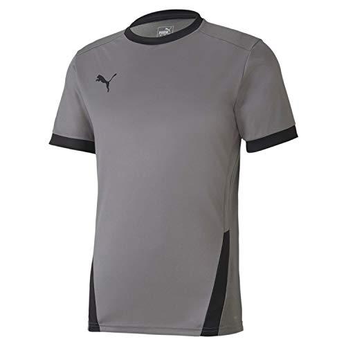 Puma Teamgoal 23 - Camiseta para hombre, Hombre, color gris y negro, tamaño XS