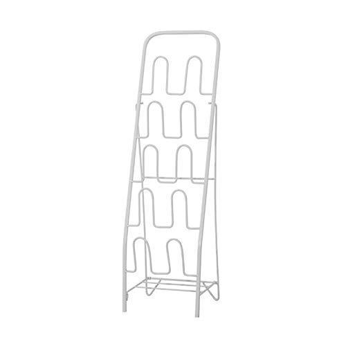 Scarpiera Sistema di stoccaggio di scarpe da scarpe multistrato per scarpe in metallo per la camera da letto del corridoio 9.4 * 7.8 * 33.4in (l * w * h) Buona capacità dei cuscinetti Scaffali portasc