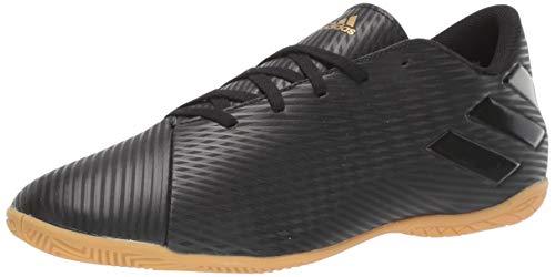 adidas Men's Nemeziz 19.4 Indoor Soccer Shoe, Utility Black, 7 M US