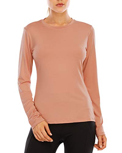 Long Sleeve Shirts for Women Sun UV Protection Quick Dry Rash Guard T Shirt Running Workout Athletic Tops UPF 50+