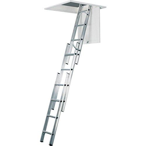 Werner Aluminum Loft Ladder 3 Section