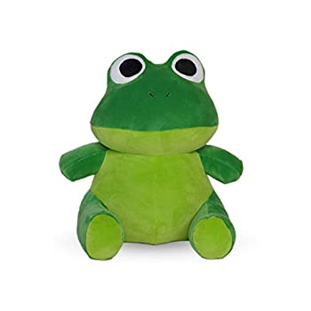 Avocatt Green Frog Plush Toy - 10 Inches Stuffed Animal Plushie - Hug and Cuddle with Squishy Soft Fabric and Stuffing - Cute Toy Gift for Boys and Girls
