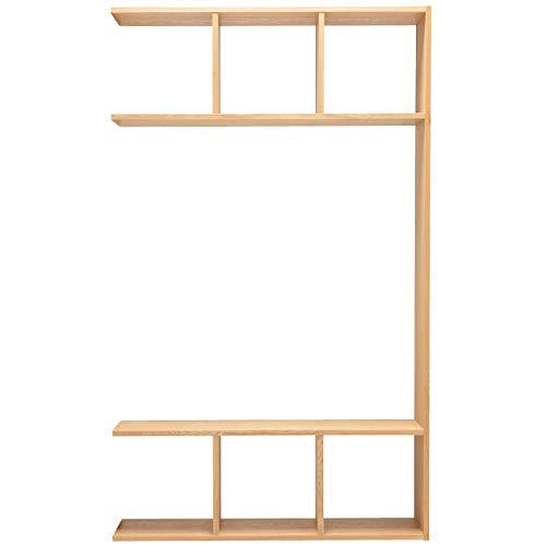 無印良品 スタッキングシェルフ5段用3列オープン型追加セット/オーク材 幅120×奥行28.5×高さ200cm 37263277
