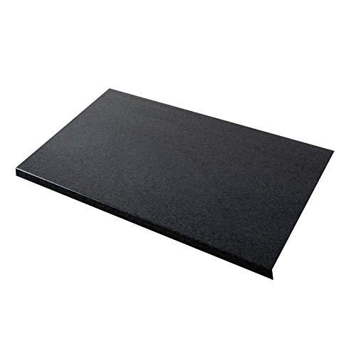 WORKTOPEXPRESS Schwarzer Granit Arbeitsplatte - Westag & Getalit Küchenarbeitsplatten, 39mm (3000mm x 900mm x 39mm)