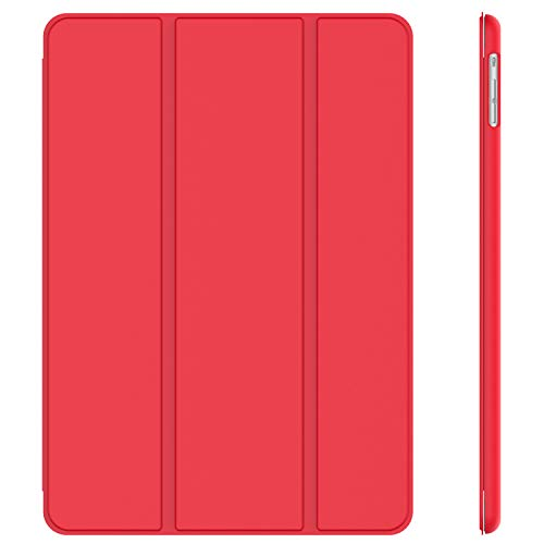 JETech Case for Apple iPad Air 1st Edition (NOT for iPad Air 2), Smart Cover with Auto Wake/Sleep, Red