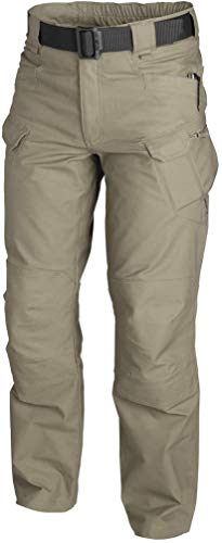 Helikon-Tex Men UTP Urban Tactical Pants, Polycotton Ripstop Fabric, Khaki Waist 38 Length 30