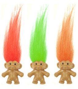 CHAAND Mini Troll Puppen Verschiedene Je