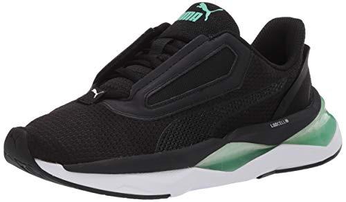 PUMA Lqdcell Shatter - Sneaker da donna, nero (Puma Blackgreen Glimmer), 42.5 EU