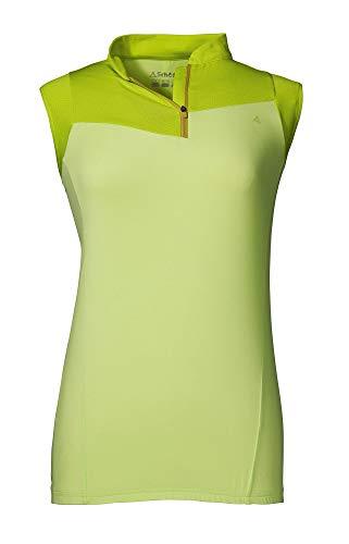 Schöffel St Nazair1 T-Shirt Femme Sharp Green FR: L (Taille Fabricant: 40)