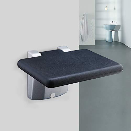 Aluminium opvouwbare douchestoel bespaart ruimte muur gemonteerd vouwbed douche bad krukken voor badkamer, blauw