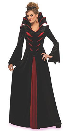 Rubies Queen of The Vampires Gothic Dress Adult One Size Fits Most