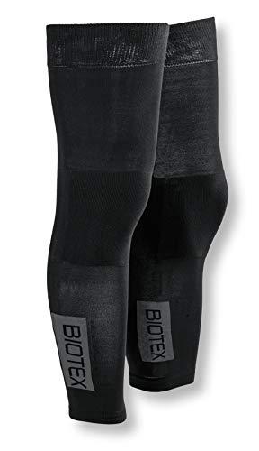 BIOTEX 4002, Gambale Termico Seamless Uomo, 04 Nero, L