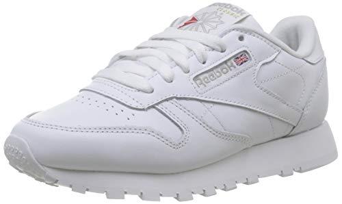 Reebok Damen Classic Leather Sneaker, Weiß (Int-White), 39 EU