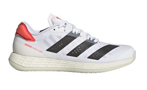 adidas Adizero Fastcourt 2.0 W, Zapatillas de Running Mujer, FTWBLA/Plamat/AMAACI, 43 1/3 EU