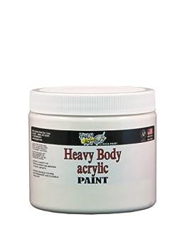 Handy Art Nu Master Heavy Body Acrylic Paint 16 ounce Titanium White