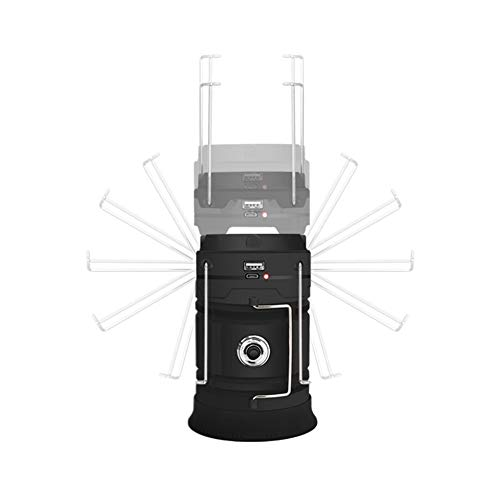 Best Lantern/Flashlight Combination - The Latest Technology 350 Lumens for Outdoor Camping, Garage and Other Portable Multi-Function Lanterns