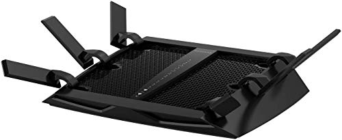 NETGEAR Nighthawk X6 Smart Wi-Fi Router (R8000) - AC3200 Tri-band Wireless Speed (Up to 3200 Mbps) | Up to 3500 Sq Ft Coverage & 50 Devices | 4 x 1G Ethernet and 2 USB ports | Armor Security