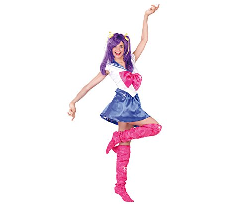 Farfouil en fête COSTUME SAILOR GIRL MANGA BLEUE