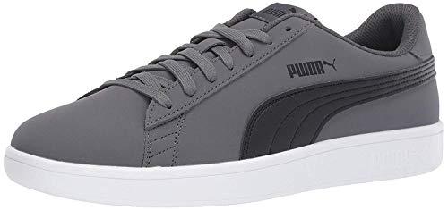 PUMA Men's Puma Smash v2 Buck Shoe, iron gate-puma black, 13 M US