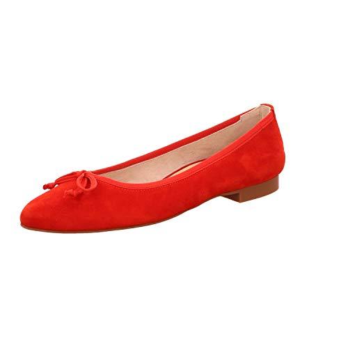 Paul Green Damen Ballerinas 2480-064 rot 571144