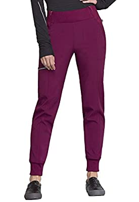 CHEROKEE Infinity Mid Rise Jogger, CK110A, S, Wine